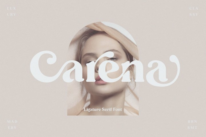 Carena - Ligature Serif Font