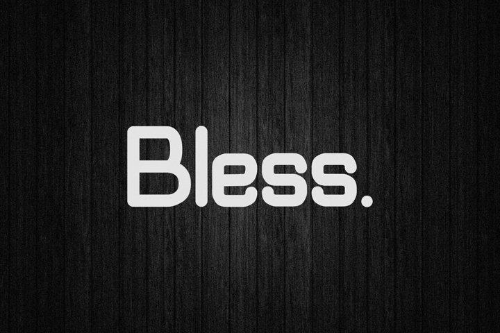 Bless - Minimal Display Typeface