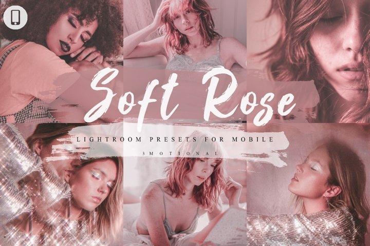 14 Soft Rose Mobile Lightroom Presets