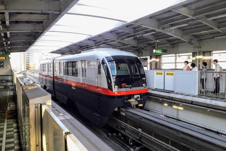 Travel Photos Monorail in Naha, Okinawa