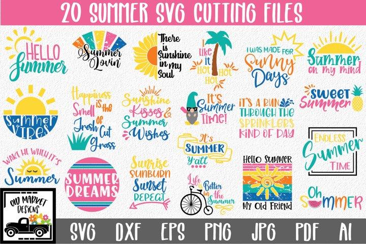 Summer SVG Bundle - Summer SVG Cut Files