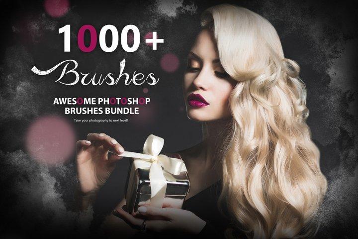1000 Awesome Photoshop Brushes Bundle