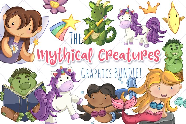 The Mythical Creatures Graphics Bundle!
