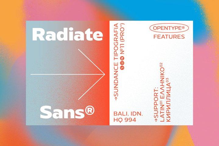 Radiate Sans
