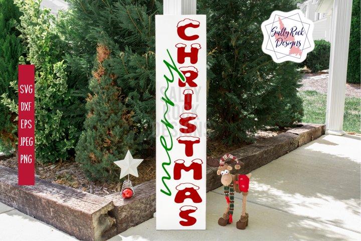 Merry Chrsitmas Svg,Merry Chrsitmas vertical svg, Xmas sign