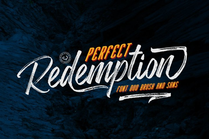 Perfect Redemption- Font Duo and Extras