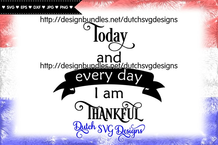 Text cutting file Thankful, thankful svg, grateful svg