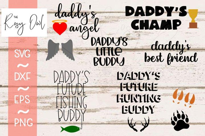 Daddy Bundle Digital Cut File Bundle