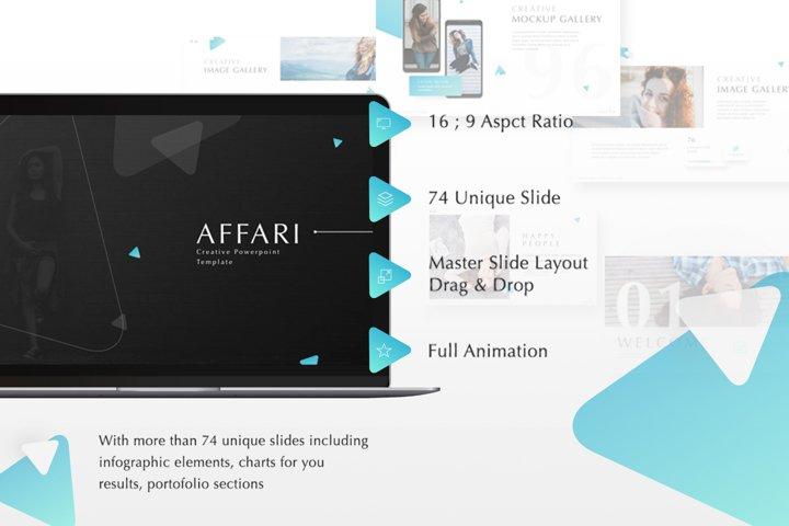 Affari Powerpoint Template