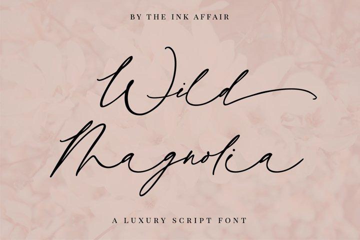 Wild Magnolia Signature Script Font