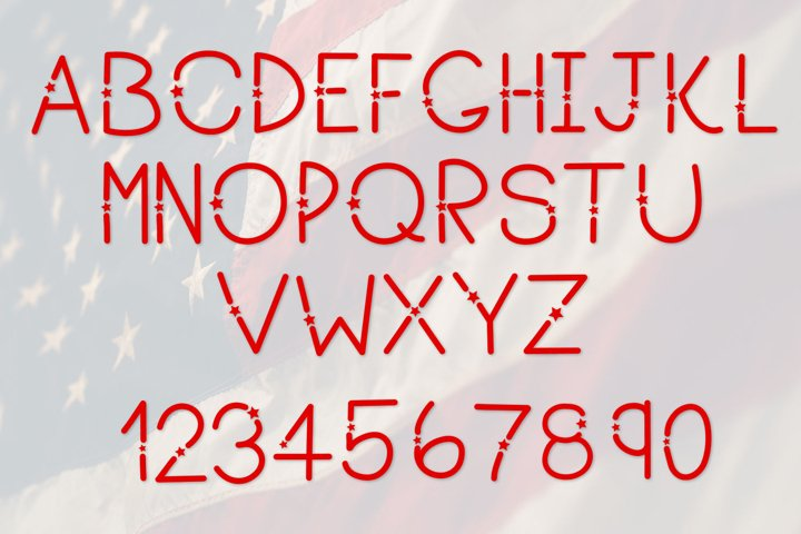 Heroes, A Patriotic Font - Free Font of The Week Design1