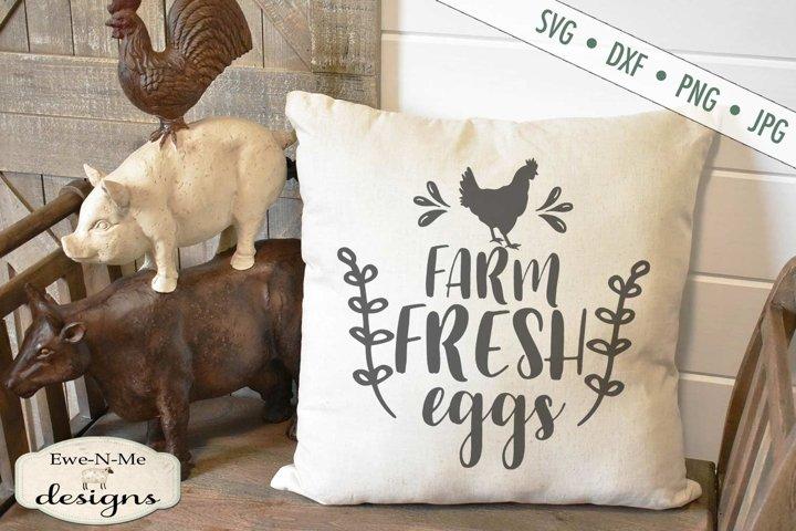 Farm Fresh Eggs - Chicken - SVG