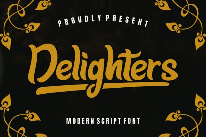 Delighter Font