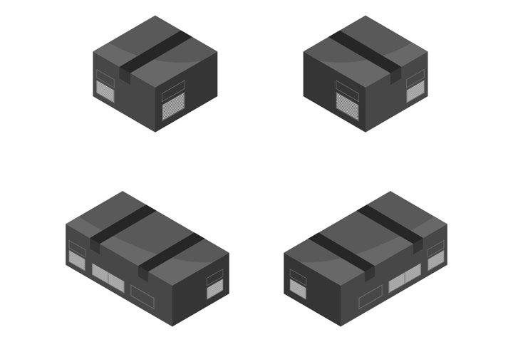 isometric box