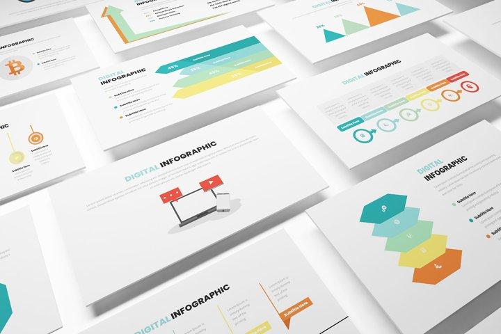 Digital Infographic Google Slides Template