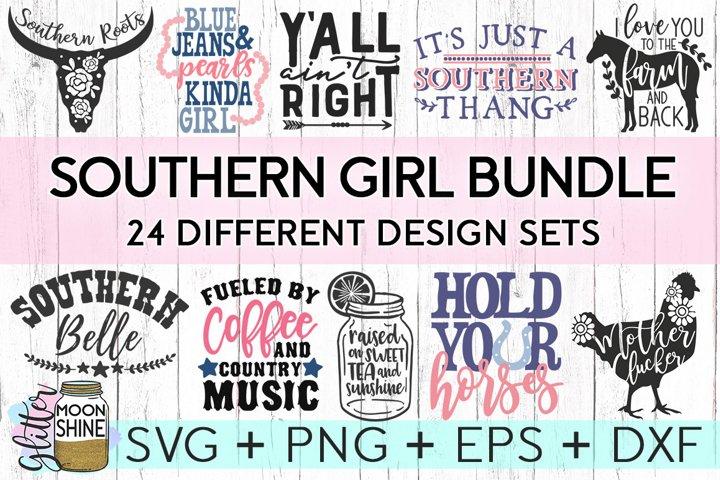 Download Southern Girl Bundle Of 24 Svg Dxf Png Eps Cutting Files Free Design Of The Week Design Bundles