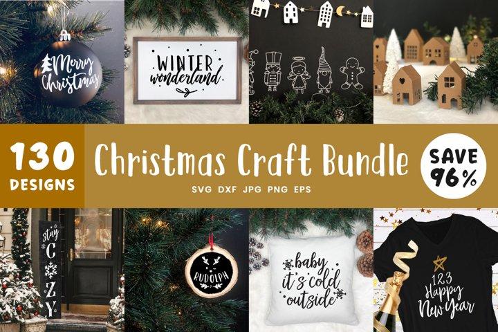 Christmas Svg Bundle | 130 Winter Wonderland SVG Bundle