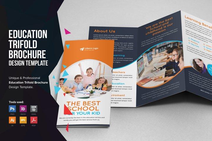 Education School Trifold Brochure v4