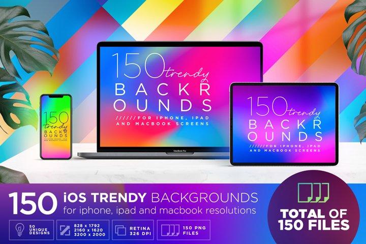 150 Premium ios Backgrounds