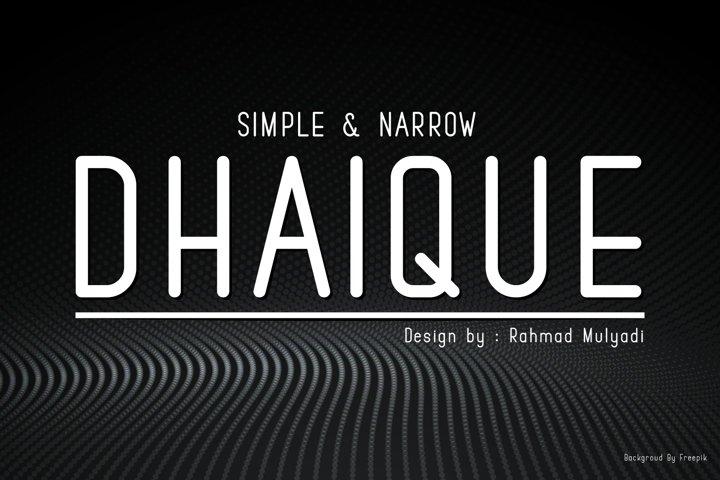 Dhaique