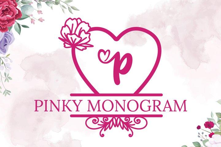 Pinky Monogram