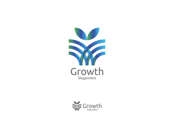 Logo Template for finance services