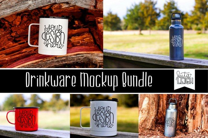 Drinkware Mockup Bundle