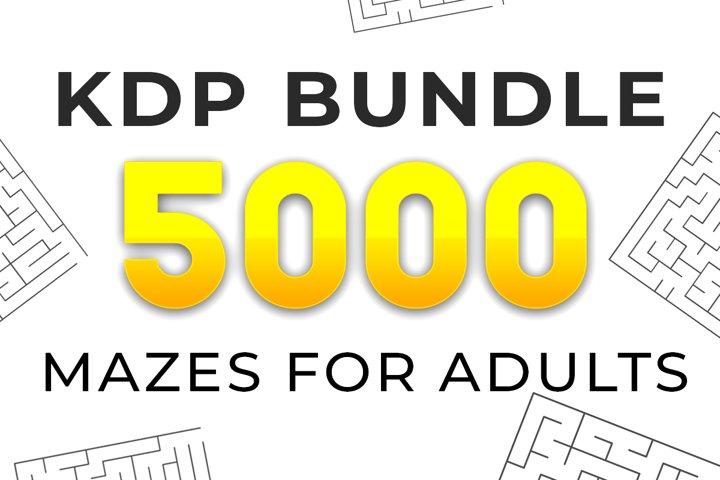 KDP Bundle l 5000 Maze