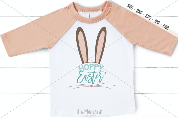 Hoppy Easter SVG, Easter T-Shirt DEsign