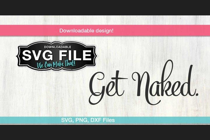 Get Naked SVG
