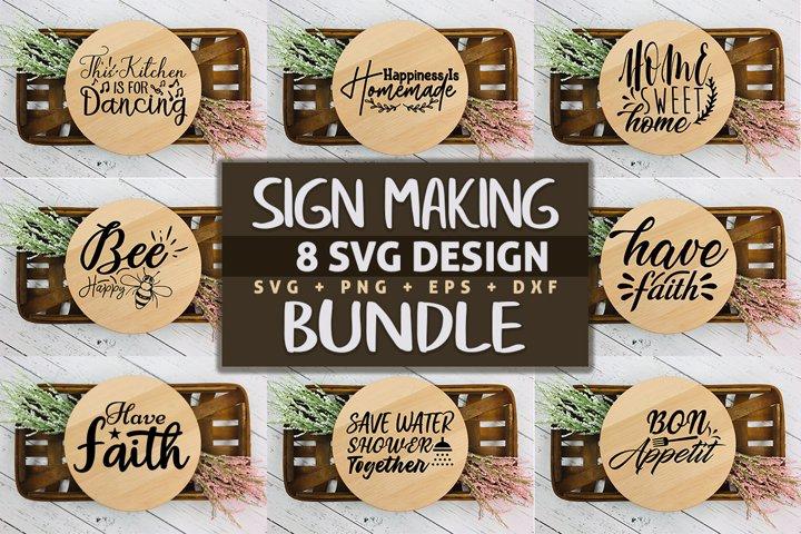 Sign Making SVG Design Bundle