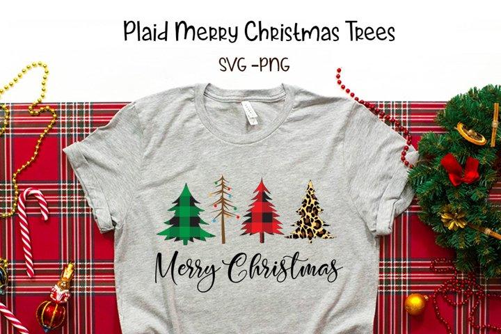 Christmas Trees - SVG - PNG