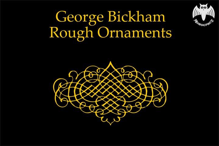 George Bickham Ornaments PACK