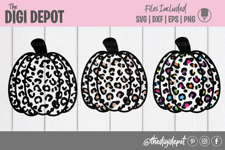 Pumpkin SVG Bundle, Leopard Pumpkin SVGs, Pumpkin SVGs