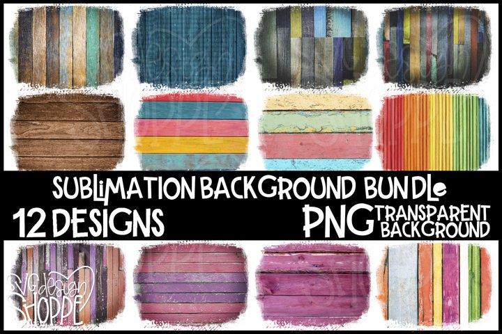 Wooden Background, Sublimation Background Bundle, PNG