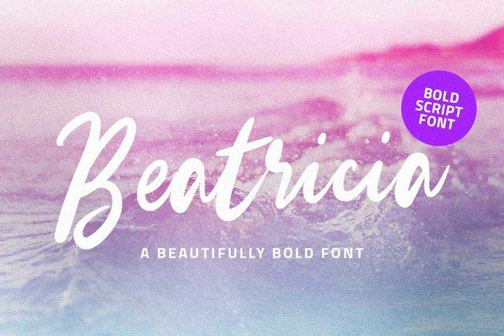 Beatricia - Beauty Elegant Script