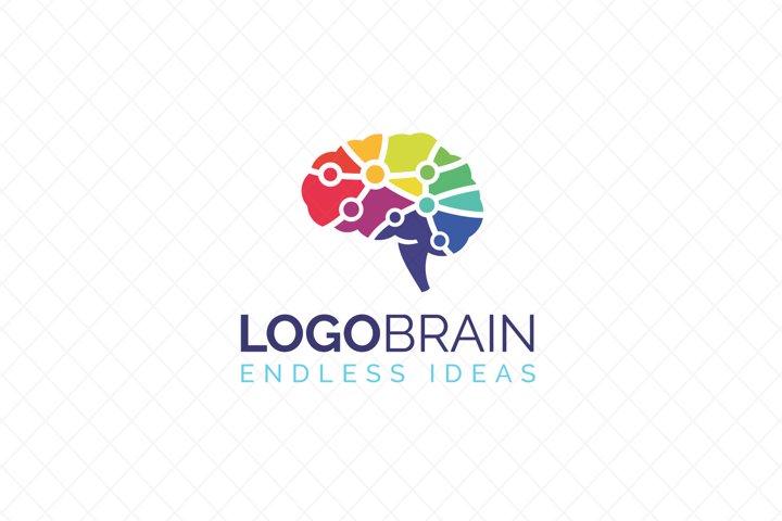 Brain Neurology Science Logo