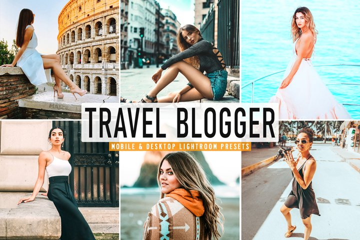 Travel Blogger Mobile & Desktop Lightroom Presets
