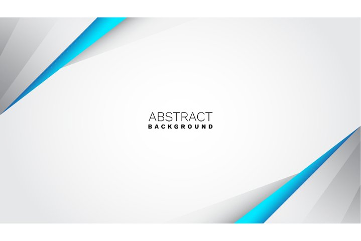 Elegant geometric blue and gray business abstract background