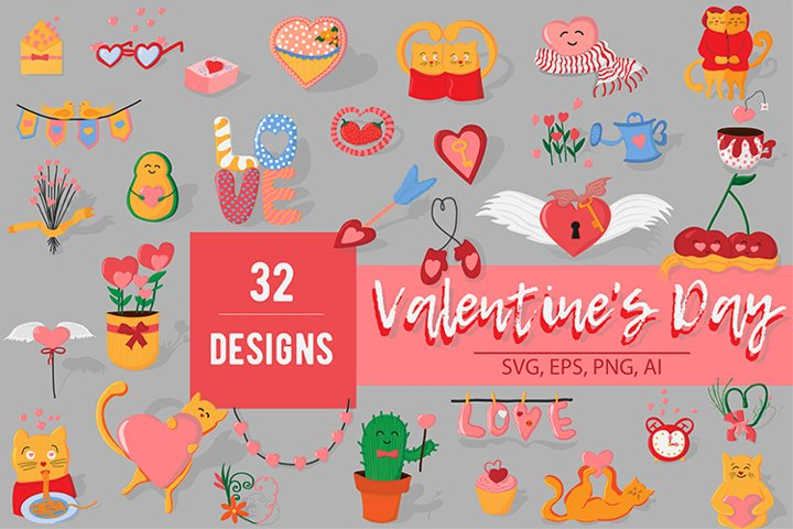 Valentines day collection
