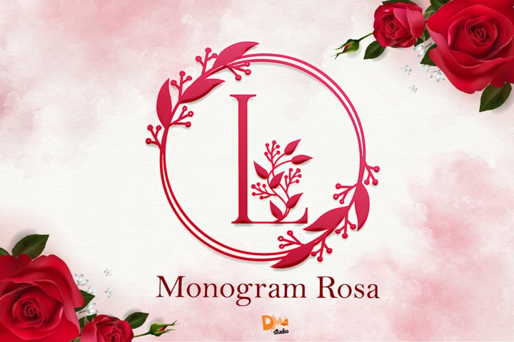 Monogram Rosa Font