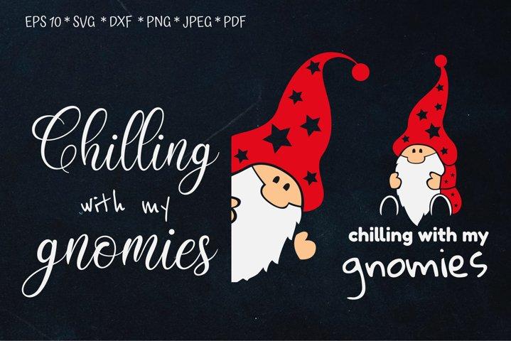 Gnomes Christmas. Gnome SVG. Gnome PNG. Christmas quotes