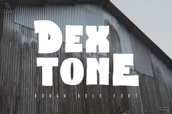 Dextone Typeface