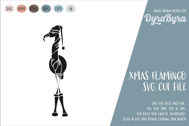 Flamingo Christmas SVG / Christmas SVG