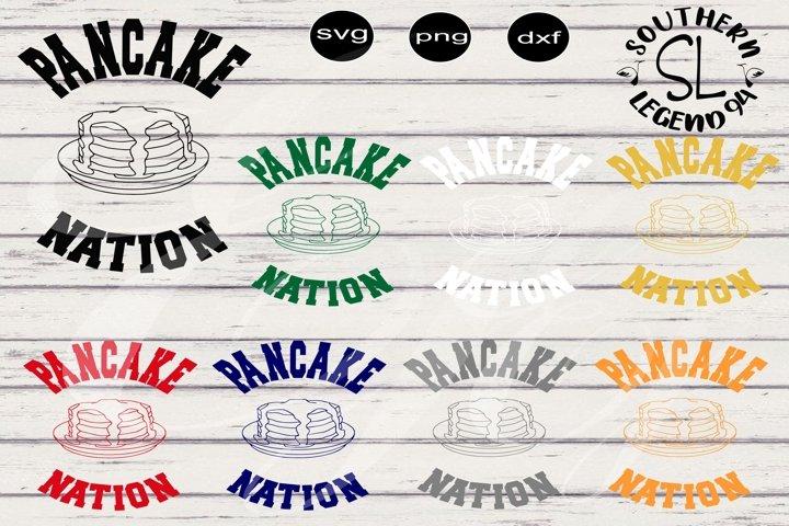 Pancake Nation 8 design pack png svg dxf