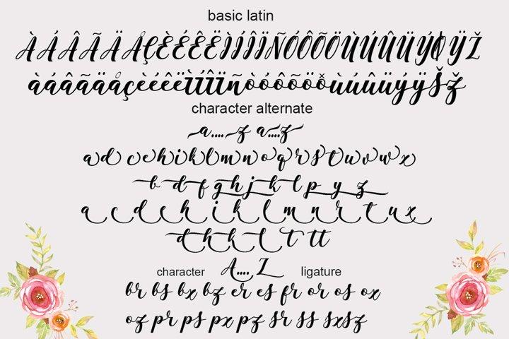 Antelope Script - Free Font of The Week Design5