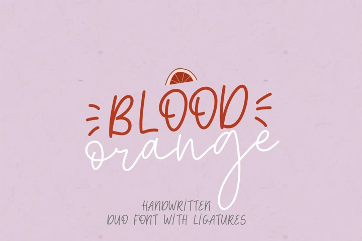 Blood Orange Duo