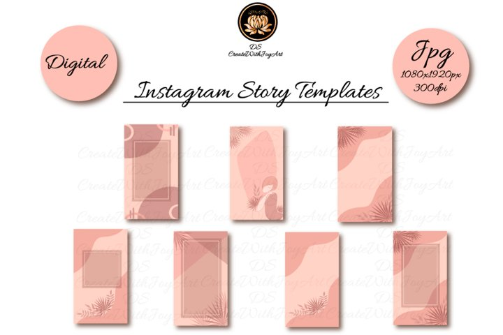 Terracotta Instagram Templates