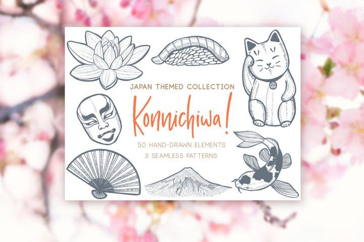 Japanese Clip Art, Japan Travel, Japanese Art Print