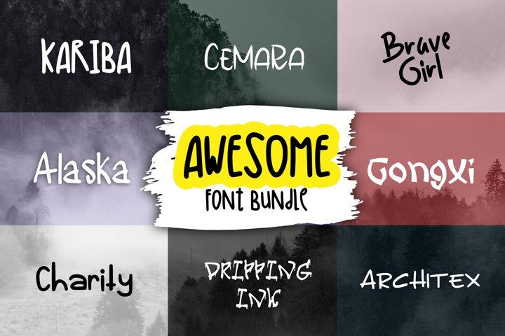 Awesome Font Bundle